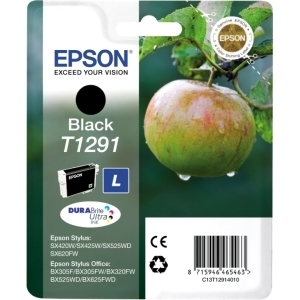 Epson DURABrite T1291 Ink Cartridge - Black