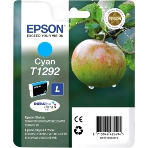 Epson DURABrite T1292 Ink Cartridge - Cyan